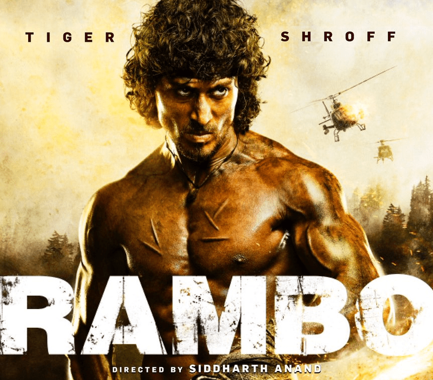 Tiger Shroff to play Rambo in Indian version