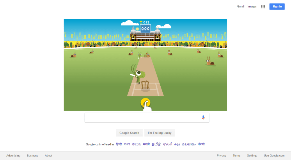 Google Doodle celebrates the start of ICC 2017 Women's Cricket World Cup