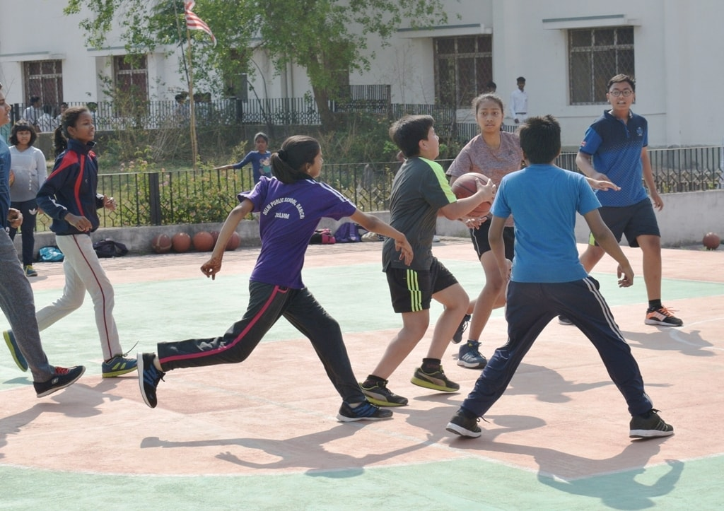 dps-ranchi-organises-session-break-sports-camp-2018