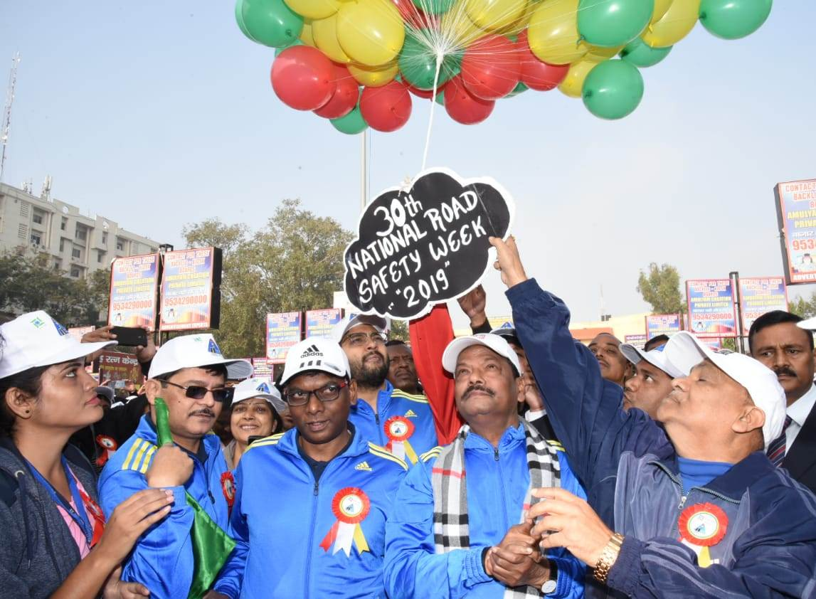 30th National Road Safety Week 2019 kickstarts in Ranchi