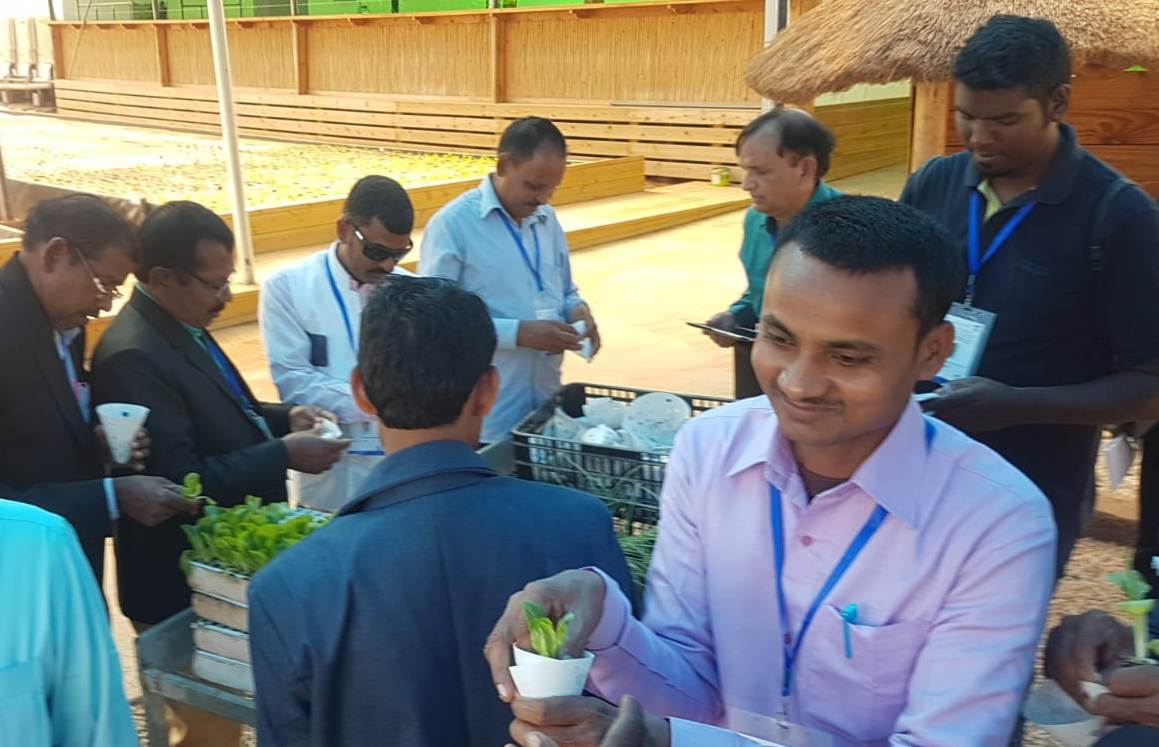 J'khand farmer delegation visits Green 2000 and Tal-ya facilities in Israel