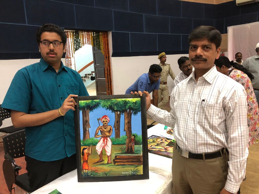 World Forestry day celebrated with painting competition in Ranchi