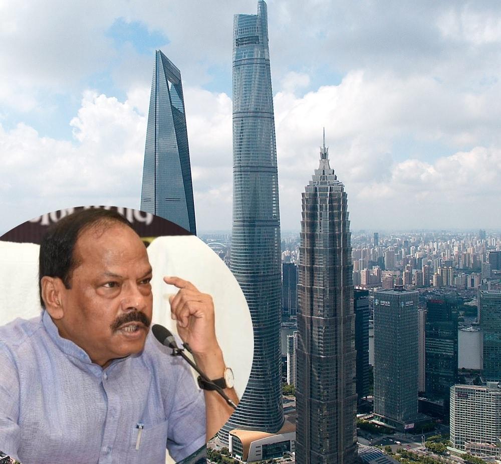 शंघाई जैसा टावर रांची में स्थापित करने पर विचार - मुख्यमंत्री