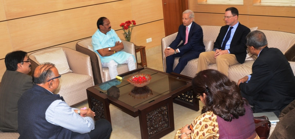 US-Ambassador-Kenneth-Jester-met-Chief-Minister-Raghubar-Das-today