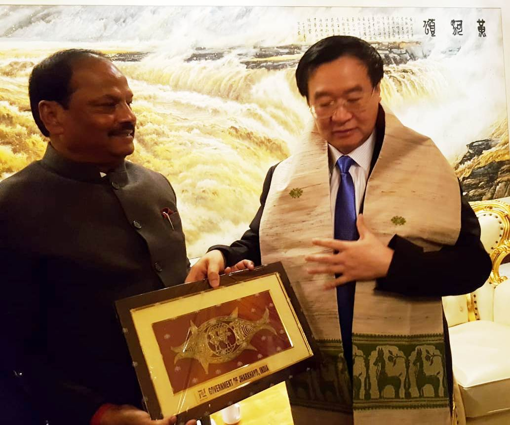 झारखंड में फूड प्रोसेसिंग क्षेत्र में निवेश के लिए दास ने चीनी कंपनियों को दिया निमंत्रण