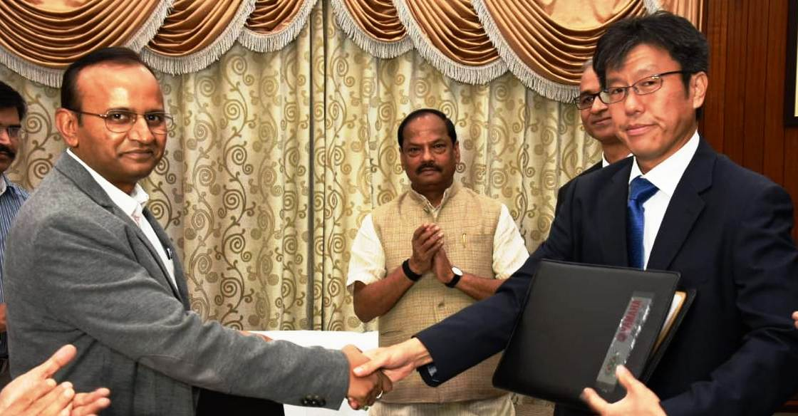 mou-inked-between-jharkhand-and-india-yamaha-motors-state-youths-to-get-skilled-training