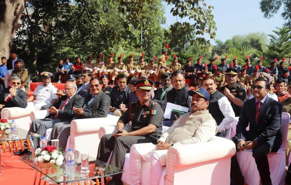 मुख्यमंत्री - नवराष्ट्र के निर्माण में एनसीसी की भूमिका महत्वपूर्ण