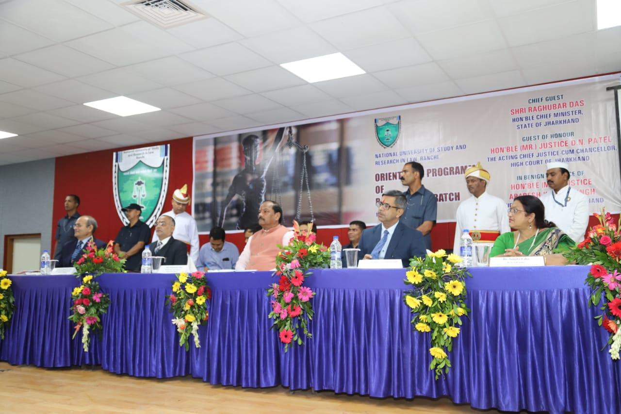 झारखंड की लॉ यूनिवर्सिटी दुनिया की सबसे अच्छी लॉ यूनिर्वसिटी हो -- रघुवर दास