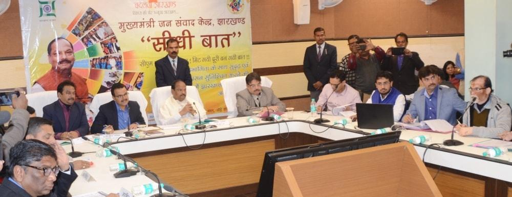 अधिकारी अपनी जिम्मेवारी निभायें और राज्य को बिचौलियों से मुक्त करें: मुख्यमंत्री