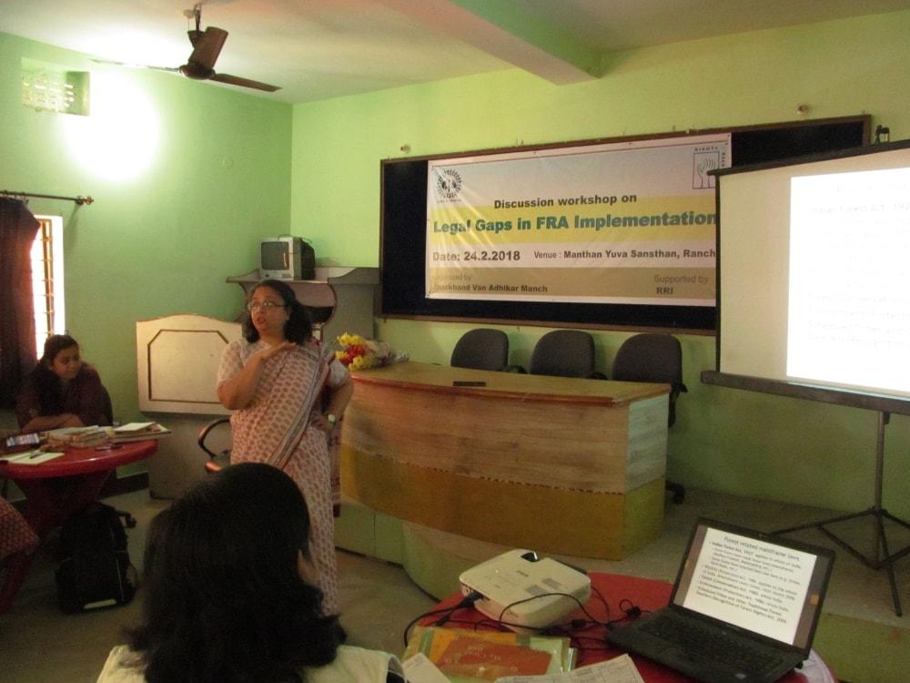 वन अधिकार अधिनियम के कार्यान्वयन और कानूनी अंतराल पर कार्यशाला