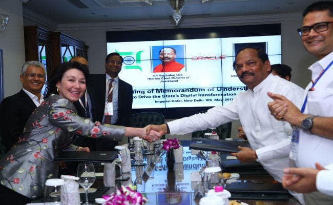 jharkhand-govt-oracle-corp-sign-mou-for-digital-transformation