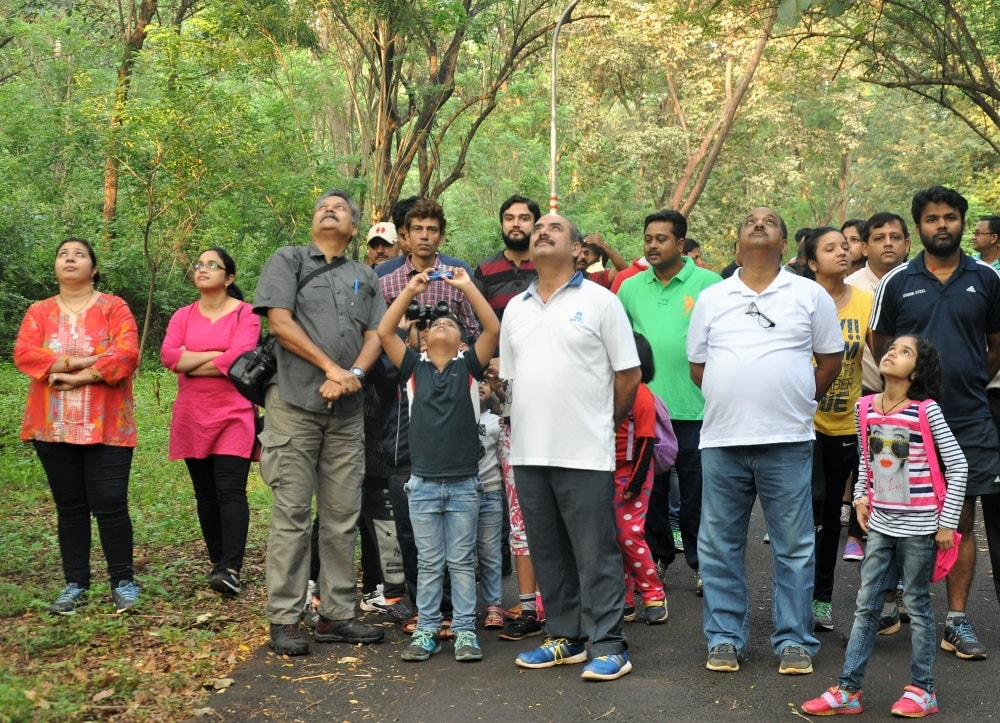 Tata Steel at Noamundi organises a bird watching session for bird lovers