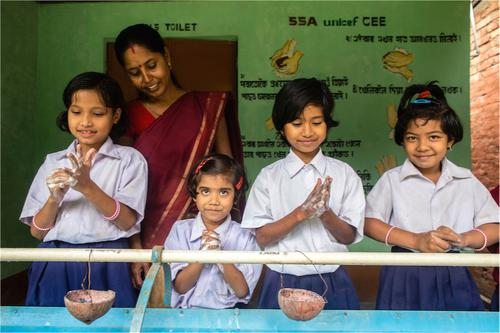 Hand-washing with Soap can Prevent Child Deaths