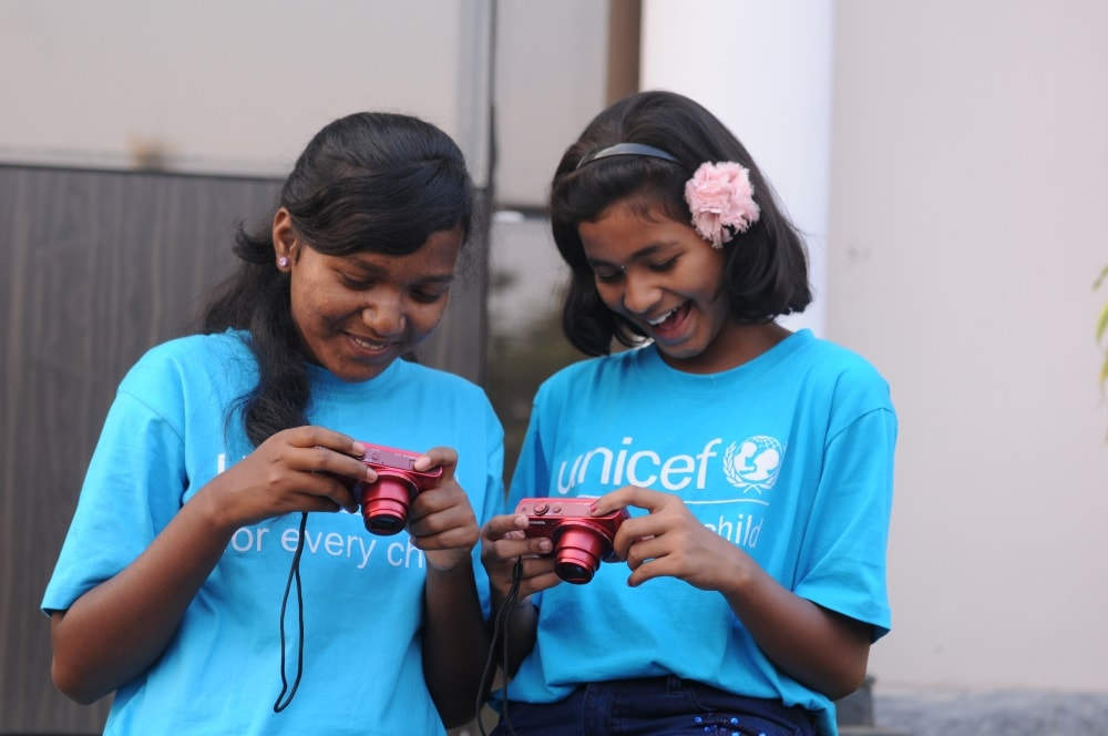 UNICEF holds photography workshop for child reporters in Jamshedpur