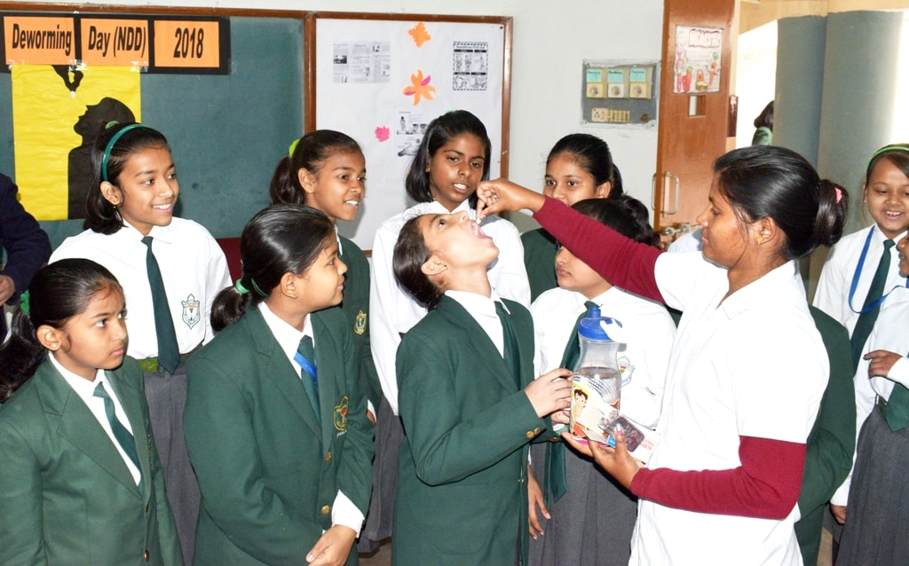 World Deworming Day celebrated at DPS Ranchi