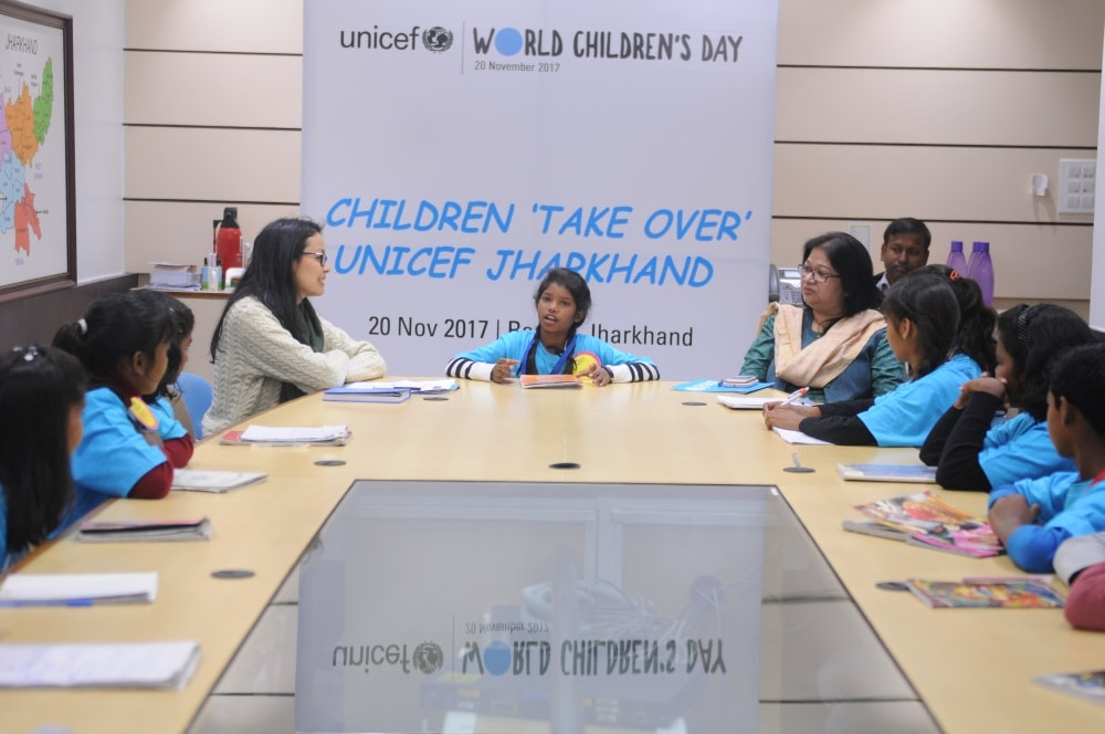 13 year old Payal becomes UNICEF Chief for a Day