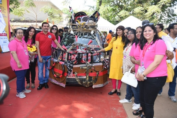 <p>JCI,Ranchi held Car Rally in Ranchi&nbsp;</p>