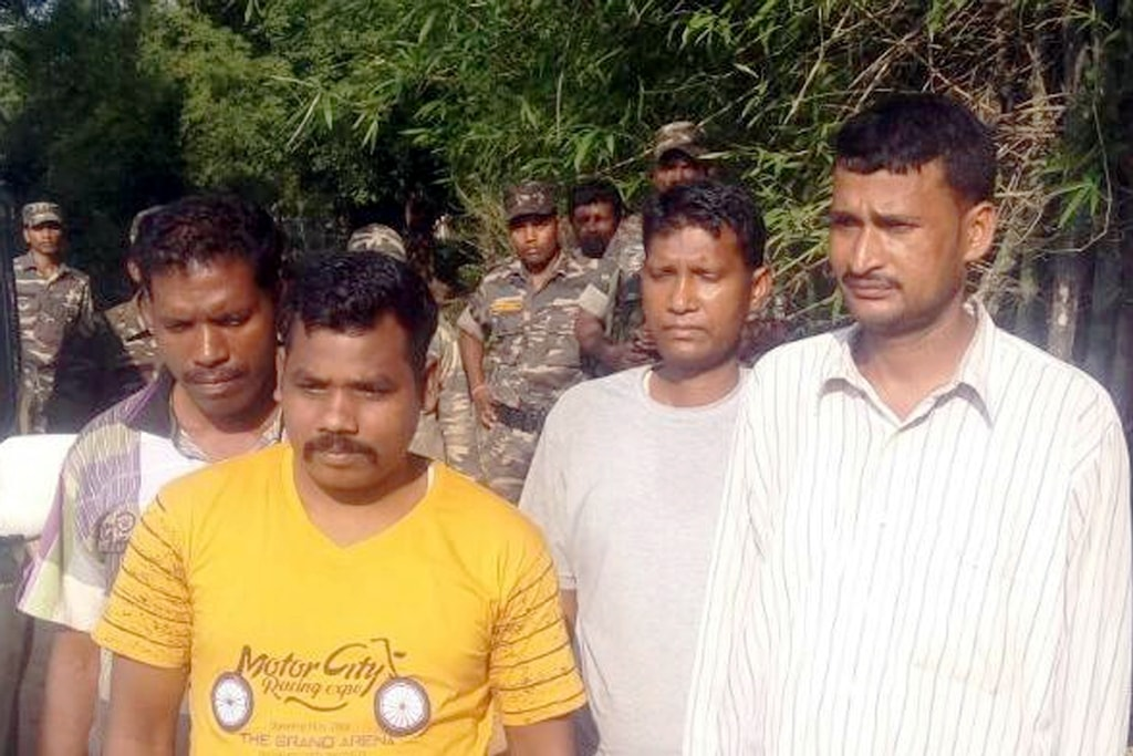 <p>Bodyguards (Jharkhand Police) of Member of Parliament (MP) Karia Munda, released by Pathalgarhi supporters at Ghaghra village in Khunti district on Friday 29 June 2018.&nbsp;</p>&#8230;