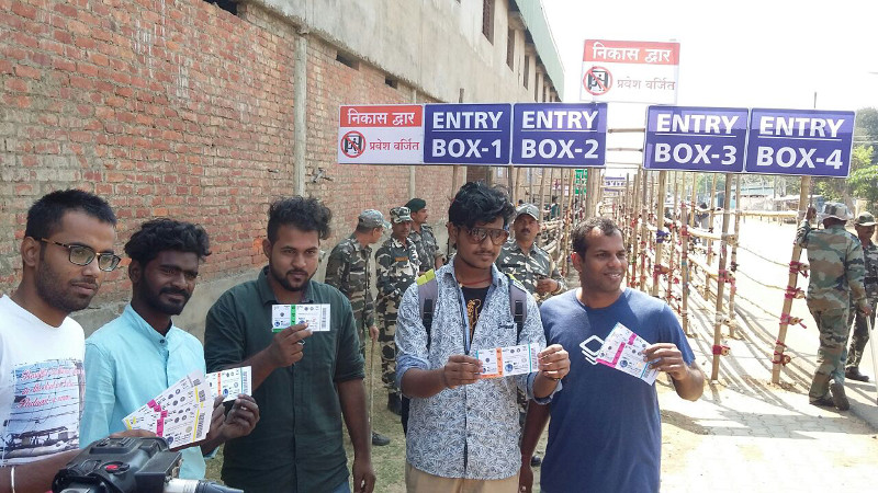 <p>The ticket sell for India-Australia Test match at Jharkhand State Cricket Association owned International Stadium in Ranchi has started.A number of cricket fans were spotted buying&#8230;
