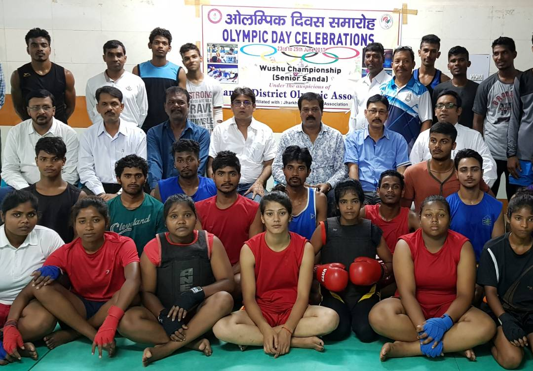 <p>To mark Olympic Day Celebrations,sports activities were launched in Ranchi.</p>
