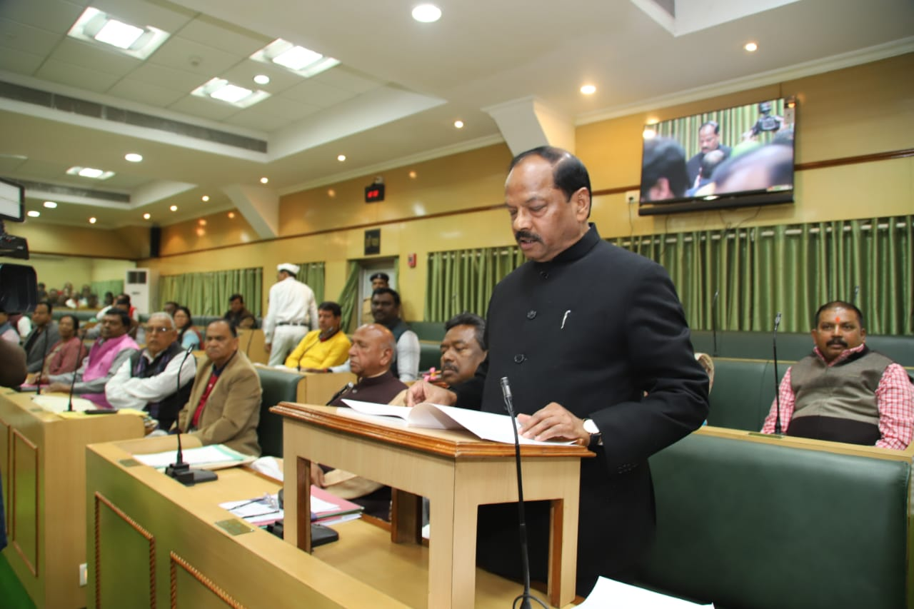 <p>Rs 85,429 crore annual budget presented in Jharkhand Assembly. Jharkhand CM Raghubar Das has submitted Rs 85,429 crore annual budget(2019-20) of the state on the floor of the Assembly.…