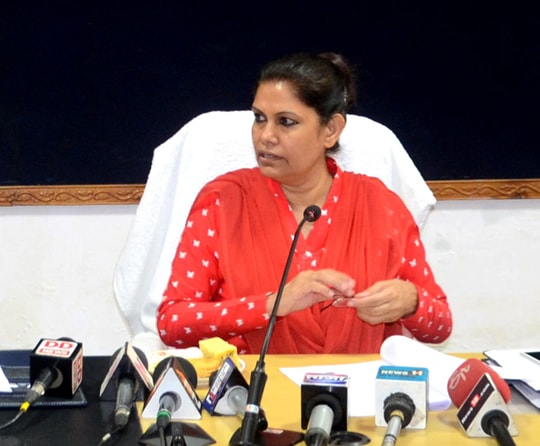 <p>Today Chief Secretary Rajbala Verma, in a meeting with the top officials of banks said that before the 15th of November, the financial inclusion plan of 1000 crores should be completed&#8230;