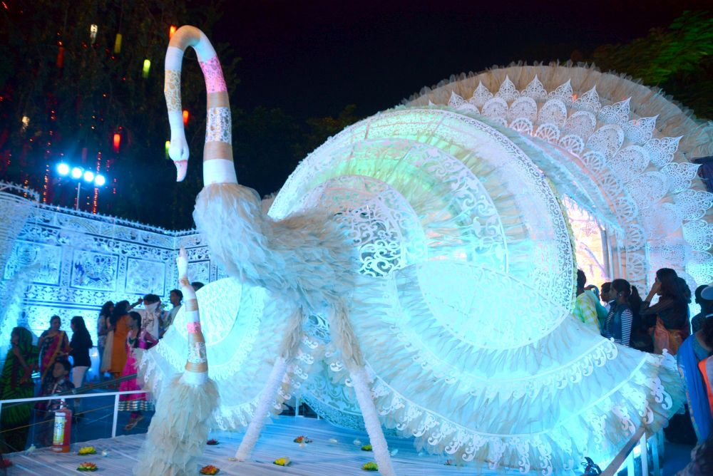 <p>World of the fairy tale at OCC Club in Ranchi on Wednesday.</p>