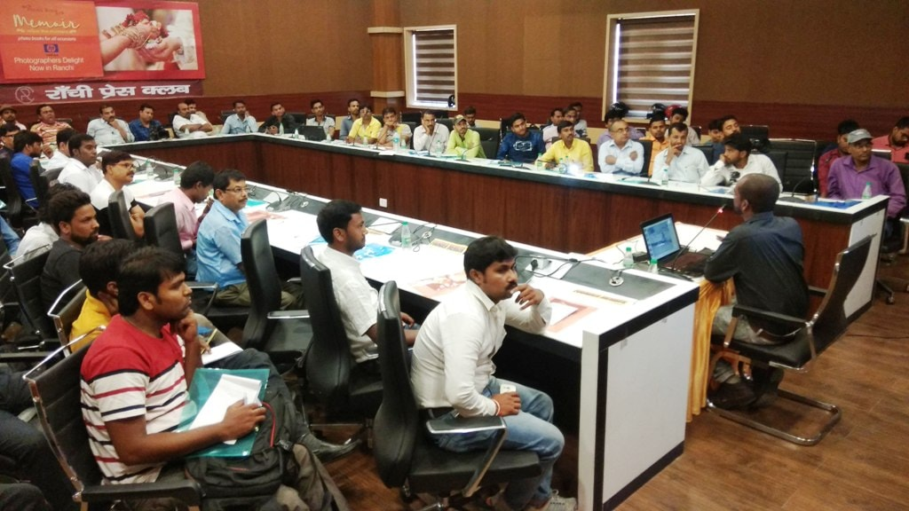 <p>Jharkhand Photographic Association (JPA) organised a&nbsp;Photoshop and Album Designing Workshop at Ranchi Press club on Sunday.&nbsp;</p>