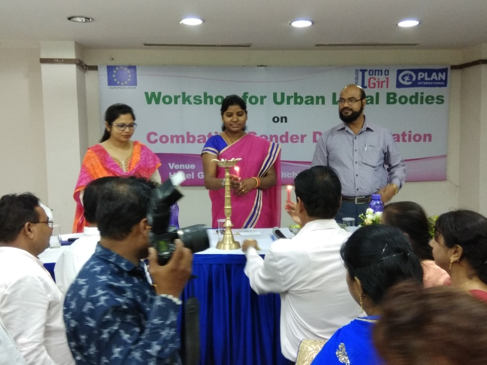 <p>Green Horizon was the venue of the workshop on 'Gender Discrimination'.The workshop,organised jointly by Plan India and Manthan Youth Organisation,was presided over by Mayor…