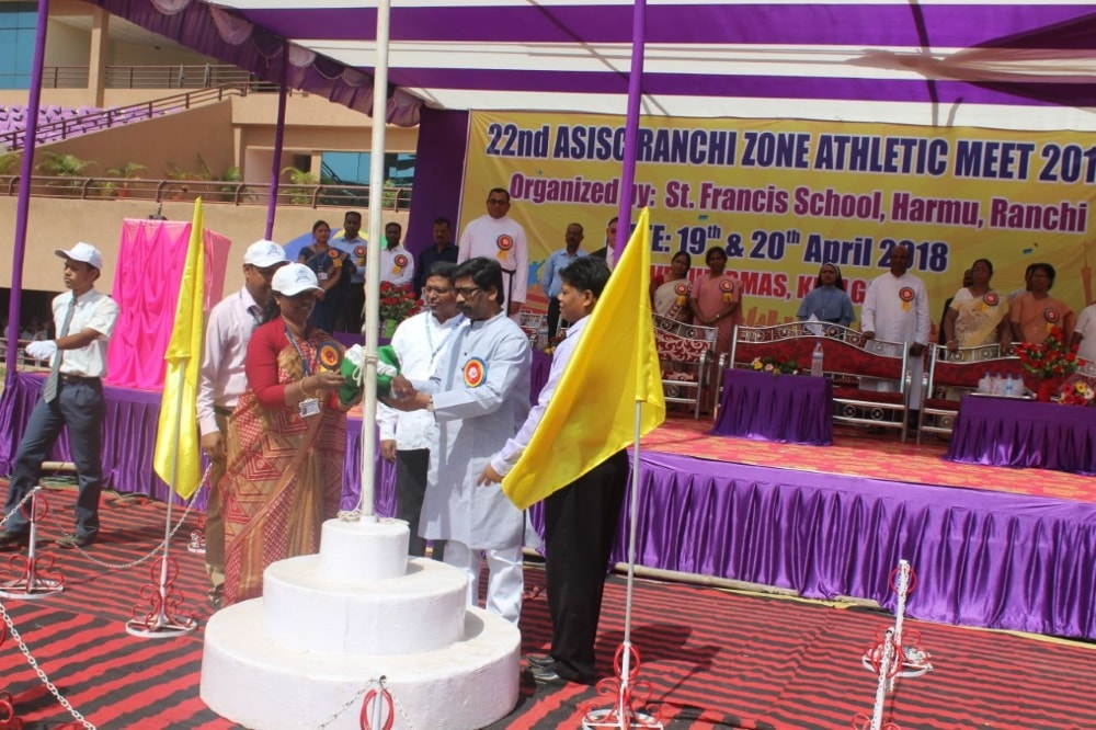 <p>City-based&nbsp;St. Francis school organised a two-day sports meet at the Birsa Munda Athletic&nbsp;Stadium, It was inaugurated&nbsp;by&nbsp;Hemant Soren, former chief minister&nbsp;of&#8230;