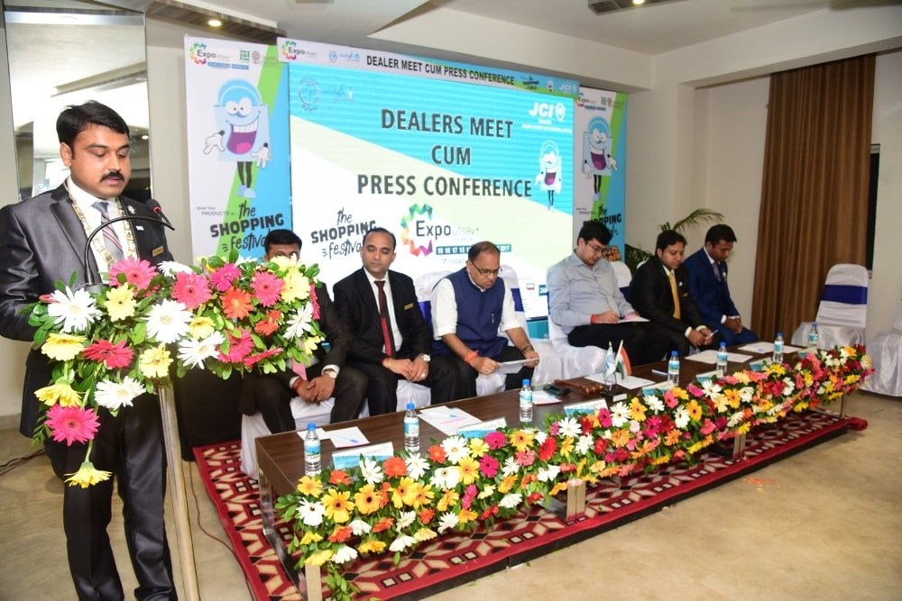 <p>JCI Ranchi organised Dealers Meet for holding Expo 2017 in Ranchi.</p>