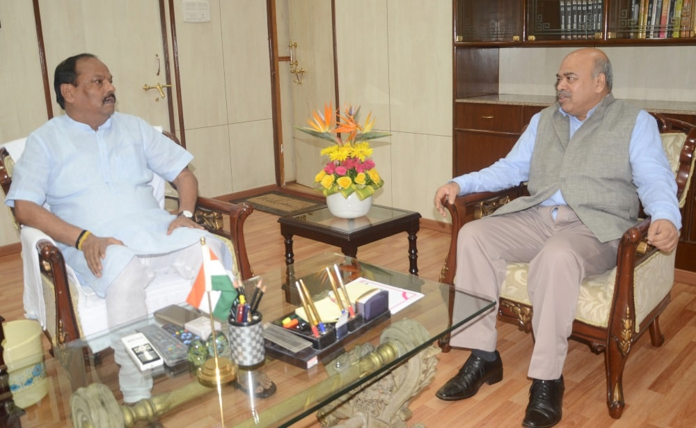 <p>CM Raghuvar Das informed about the work being done in agriculture sector in Jharkhand&nbsp;during his meeting with Mr. S K Patnaik, Agriculture Secretary, Government of India on&#8230;