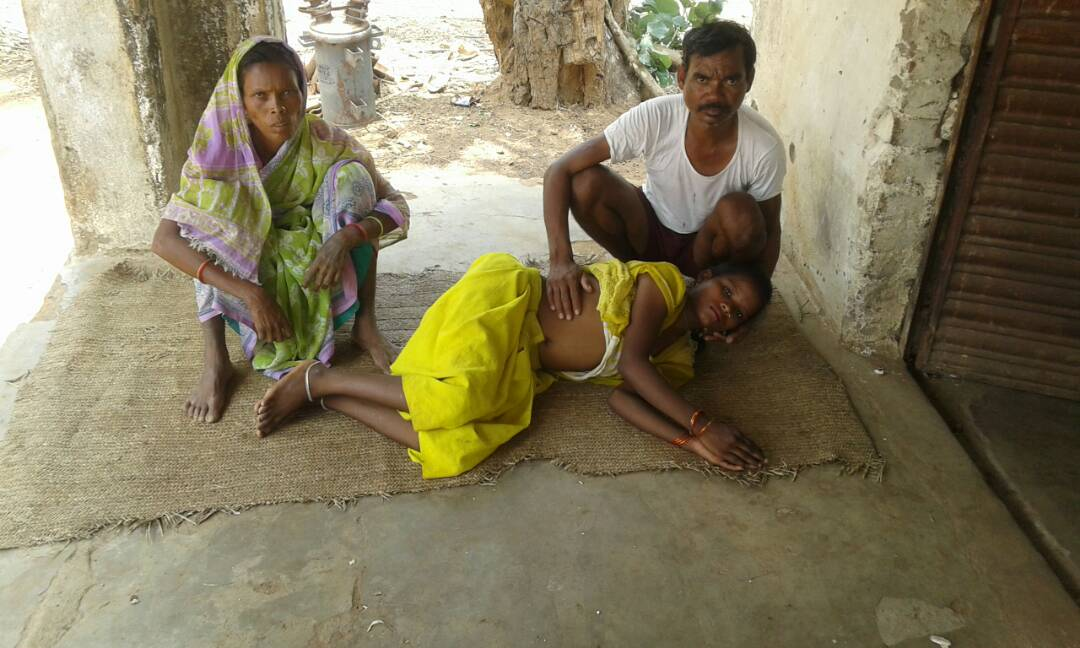 <p>She is a poorest of the poor Adivasi woman belonging to the primitive tribe-Pahariya.Koshila Kumari,Chatuaag village under Kamta Panchayat,Chandwa,has been suffering from stomach&#8230;
