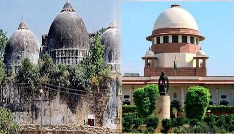 <p>Supreme Court extends hearingof Ayodhya Ram temple case to January 2019.</p>