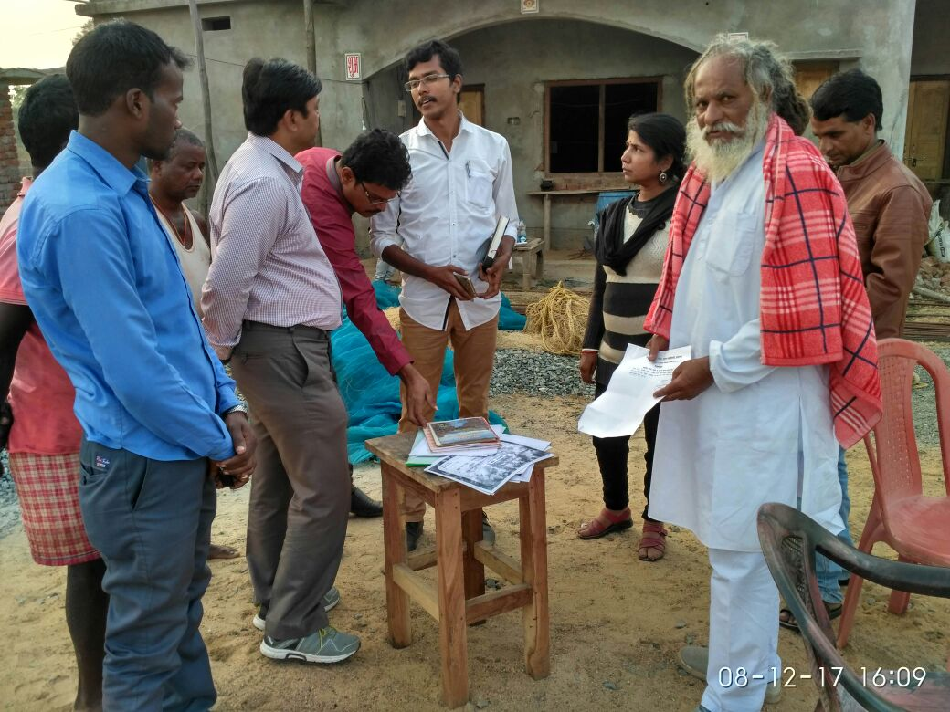<p>NFDB team visited Shri Devanand Ji&#39;s hatchery and farm and inspected the ongoing &nbsp;activities, &nbsp;records etc., Barsot, Hazaribag district</p>