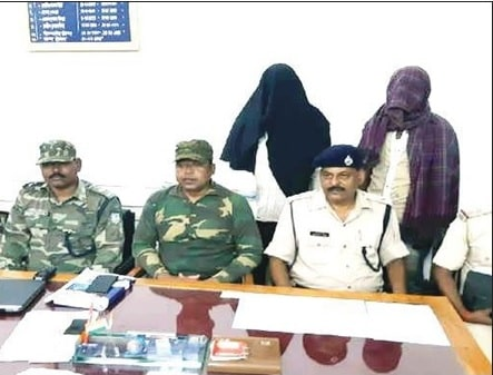 <p>Two ransom collectors belonging to the Maoist outfit TSPC were arrested and Rs 3.74 lakh cash recovered from their possession by the police in Chatra today. They were identified…