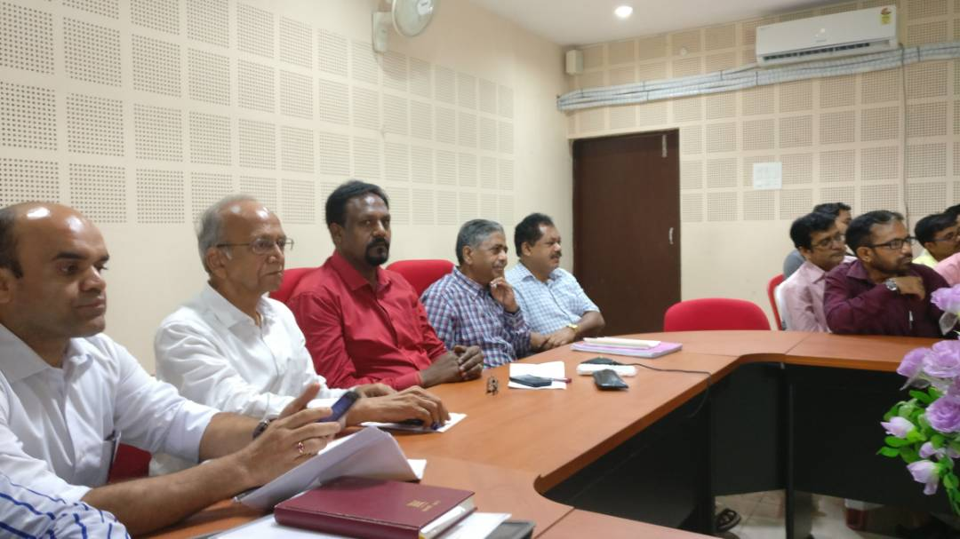 <p>GST workshop took place at Sales Tax office,Jamshedpur.It was participated among others by JP Tappa,JC Adm,Ajay Sinha,JC,Appeal,CL Sharma,Master Trainer,Sanjay Gupta,Singhbhum Chamber&#8230;