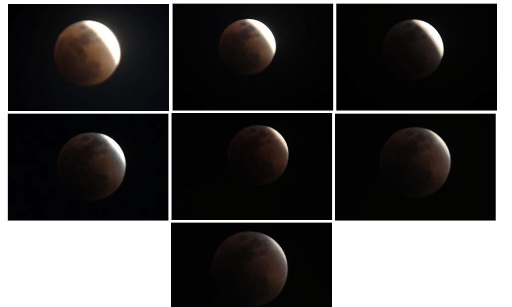 <p>A glimpse of today&#39;s&nbsp;Total Lunar Eclipse . Rare &quot;Super Blue Blood Moon&quot;&nbsp;</p>