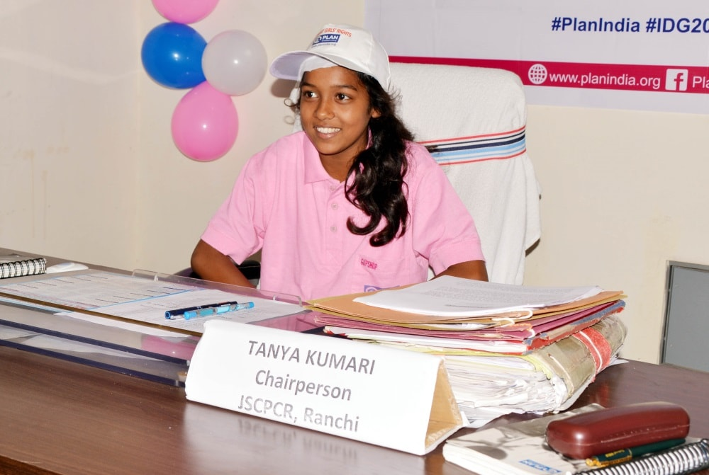 <p>12 year old student Tanya Kumari took charge as Chairpersons Jharkhand State Commission for Protection of Child Rights (JSCPCR) for one hour on the occasion of the International&#8230;
