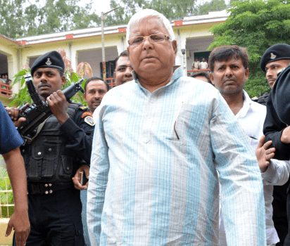 <p>With security men guarding him,ex Bihar CM and RJD chief Lalu Prasad Yadav,who had landed in Ranchi from Patna on Monday.appeared before the CBI special court in the fodder scam&#8230;
