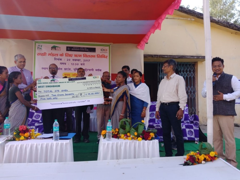 <p>A mega credit linkage camp was organized at Purnia football maidan Khutpani by JSLPS &amp; Jharkhand Gramin Bank today.275 SHG Credit linkage pass books were distributed among the&#8230;