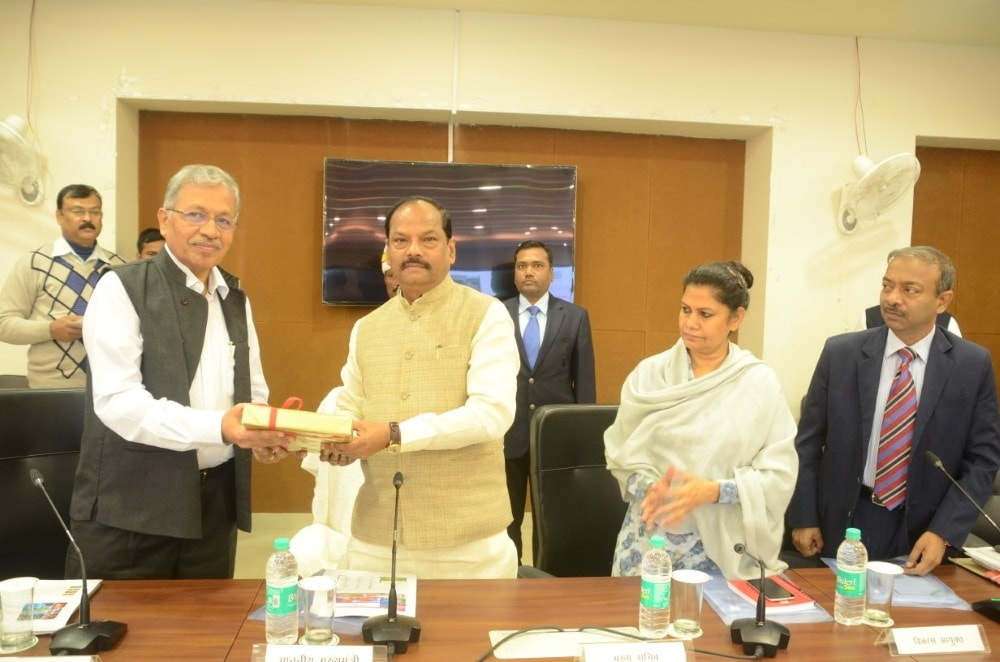 <p>At CM's meeting of the State Development Council. T Nandkumar presented the project report of 3-year work plan on Wednesday.</p>