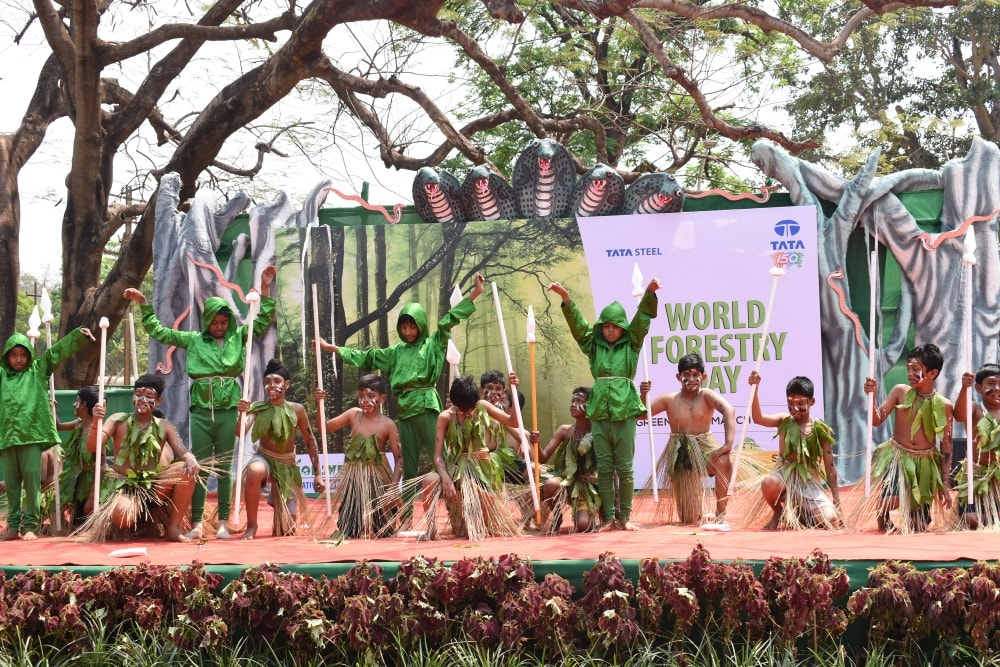 <p>Tata Steel at Noamundi celebrates World Forestry Day&nbsp;</p>