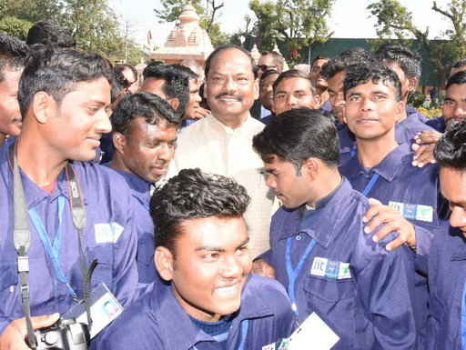 <p>69 youths received appointment letters. They were trained under skill development programme of the Narendra Modi government by Jharkhand CM Raghubar Das at Pragya Foundation run…