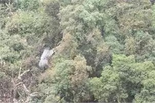 <p>Green belt of Ranchi looks amazing from the window of Indigo flight.</p>