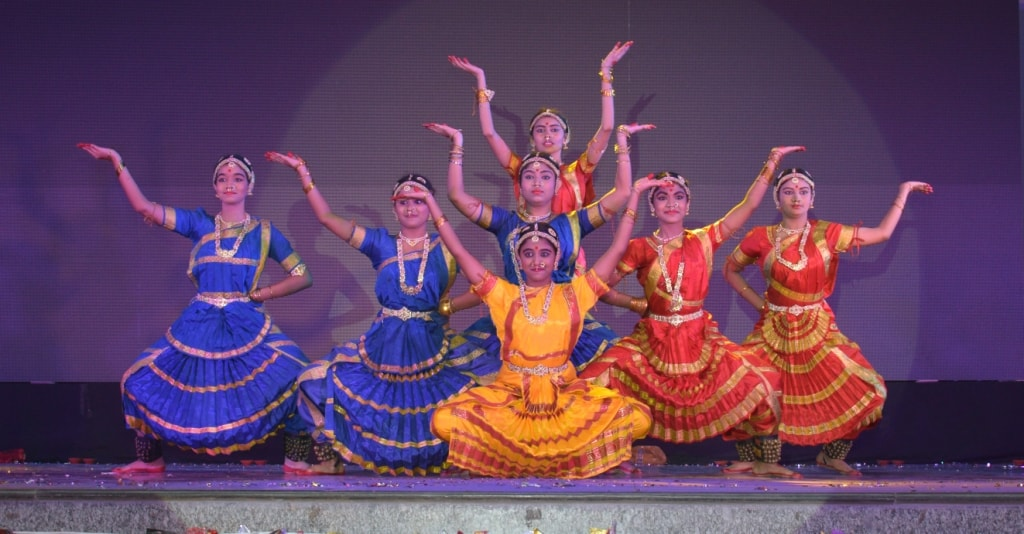 <p>Colourful and vibrant Inter school Dance Competition-NRITYANJALI held at a ranchi school on saturday</p>
