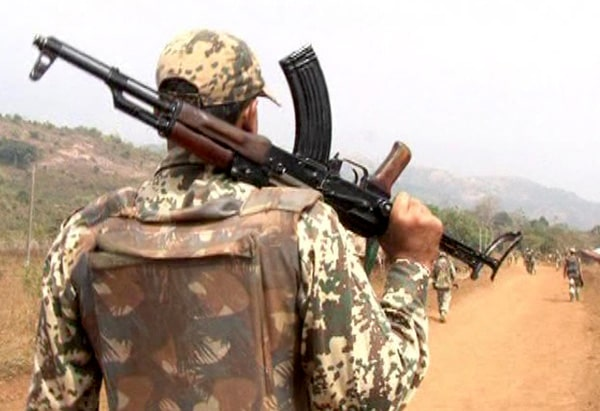 <p>Five Maoists were killed in a gunfight with security forces in Narayanpur district of Chhattisgarh on Saturday.Two jawans of the District Reserve Guard (DRG) were also injured in…