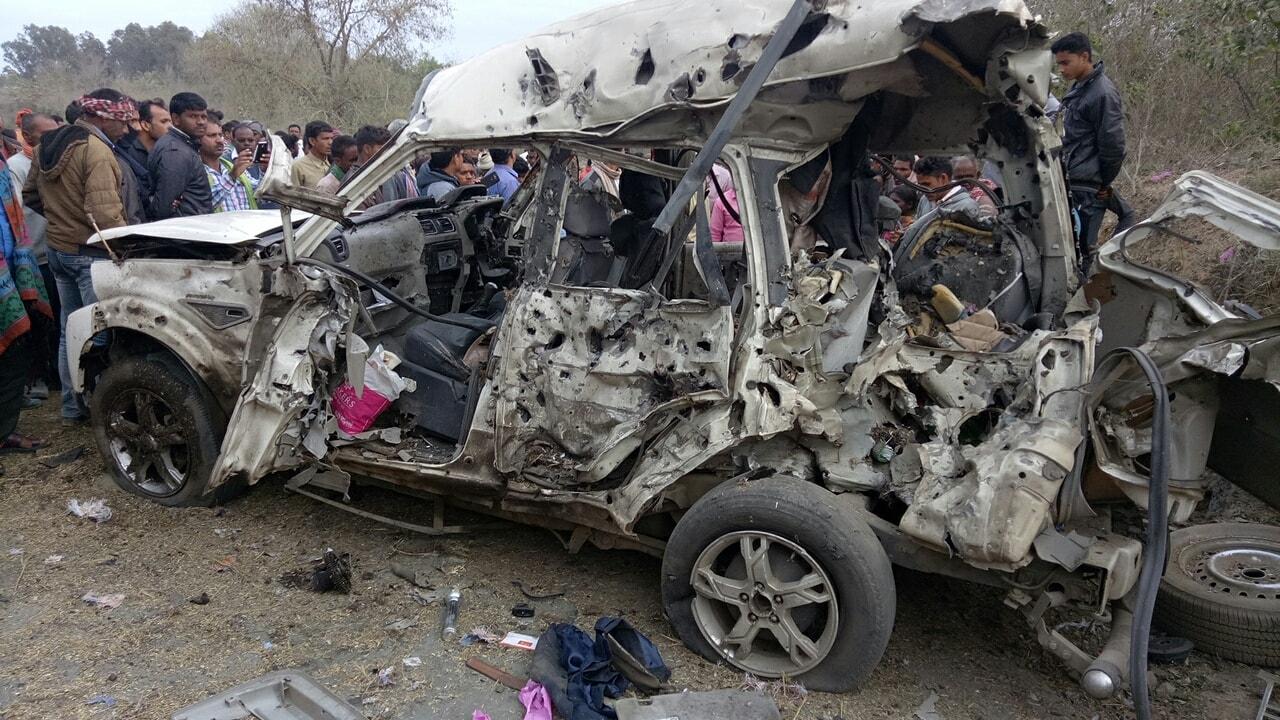 <p>कोडरमा जिला कांग्रेस कमेटी के अध्यक्ष शंकर यादव की विस्फोट में मौत। चंदवारा थाना अंतर्गत ढाब थाम स्थित उनके माइंस एरिया में स्कॉर्पियो सहित विस्फोट में मौत की सूचना मिल रही है।&#8230;