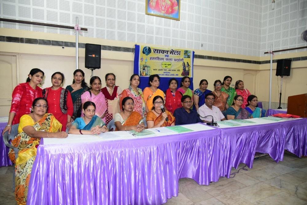 <p>Agrawal Sabha had organised Sawan Mela and its women membersaddressed media persons in Ranchi.</p>