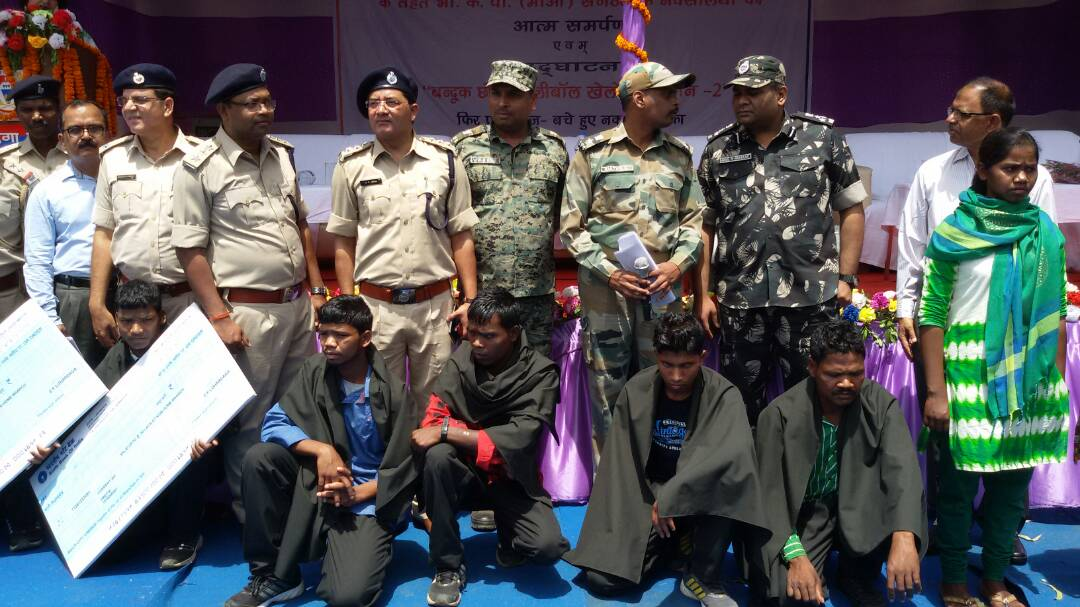 <p>Among 10 Maoists who had surrendered before the police officers in Lohardaga,2 were Area Commanders and 1 Sub Zonal Commander.They were wanted by the police in a dozen criminal&#8230;
